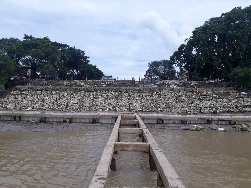 River Training of Bago River, Construction of Groynes and Roots Retaining Wall @ Yangon