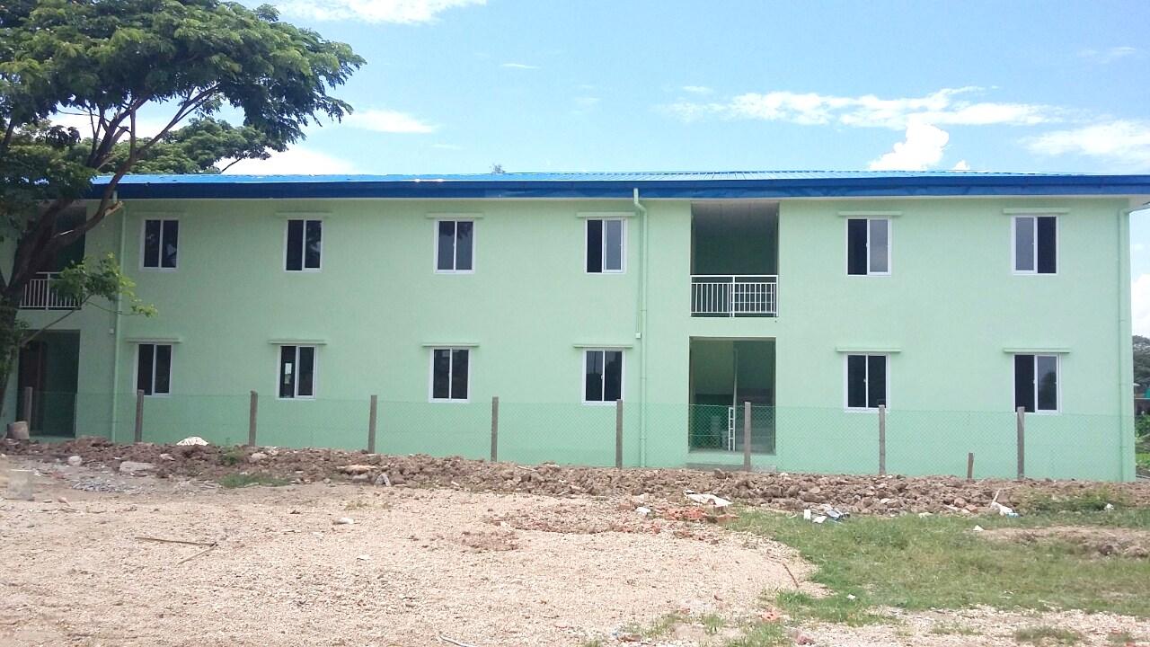 4 Units 2 Storeyed Staff Housing @ South Oakkala Township, Yangon