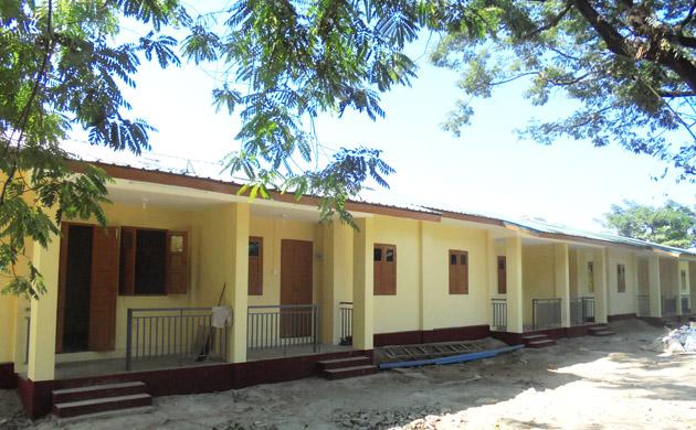 6 Units Brick Pucca Building – 2Nos @ Yangon